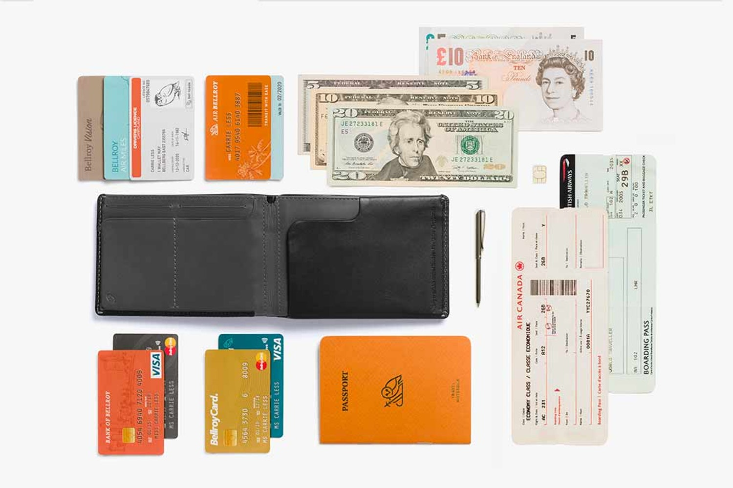 Travel Gear Invest Bellroy Wallet